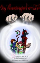 An Illusionist's Tale - Cover by MamuEmu