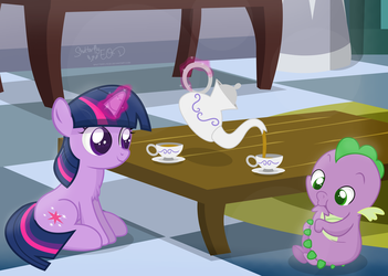 Tea Time by ShutterflyEQD