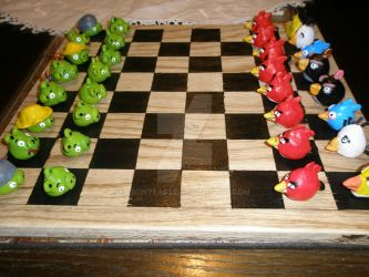 Angry Birds Chess by EbonyEagle
