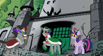 Nightmare family dark Equestria by imyouknowwho