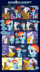Dash Academy Chapter 7 - Free Fall #23 by SorcerusHorserus