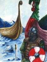 A Viking in His Winter Realm by UncleBob47