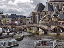Gent - The bridge ( New edit ) by UdoChristmann