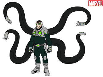 Marvel - Doctor Octopus 2018 by HewyToonmore