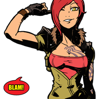 borderlands lilith by oldwillowJP