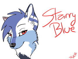 New Starry Avatar Closeup by Spottedfire1212