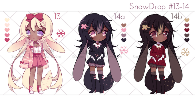 SnowDrop 13-14: Auction [CLOSED] by Sueweetie