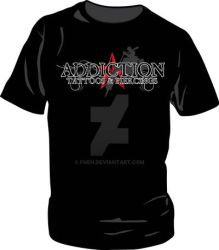 Addiction Tattoo Shirt Concept by fneh
