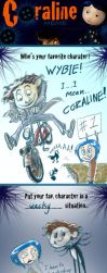 The Coraline Meme by QGildea