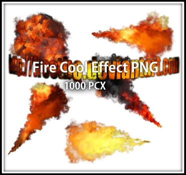 Fire effect PNG by FrostBo