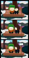 A bad joke mini comic Pt.FINALE (south park) by Kitshime-SP