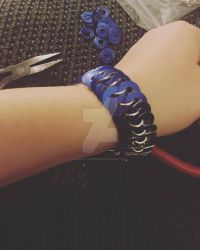 Blue bracelet by LovelyChains