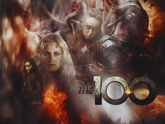 Collage The 100 by trollish-end