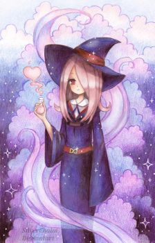 Sucy Little Witch Academia by SilverChaim