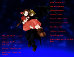 MMD Cloud and Aerith by Pucaroo16