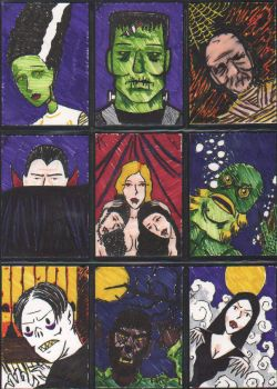 Sketch cards 1 by Andy-Korty