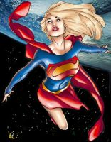 supergirl by Hughes by tony058
