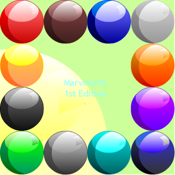 Colored Orbs by marvinator