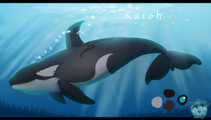 Kaioh - Reference sheet by Strawberry-Loupa