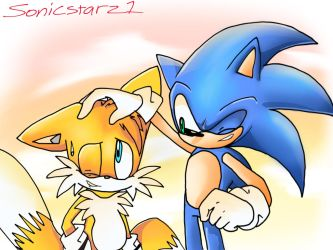 I drew a thing by SonicStarz1