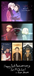 [YOI] IT'S BEEN A YEAR by Jeroine