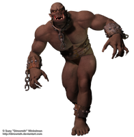 Ogre png by Direwrath