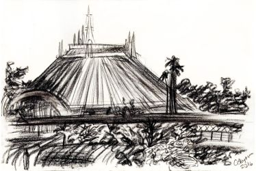 Space Mountain by SteamboatLyssie