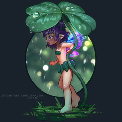 Collab - Lyla in the Rain by MLeth