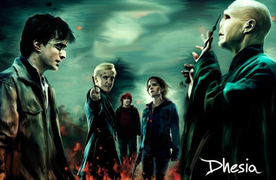 Hp7- Harry is alive by Dhesia