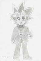Yugi Boy by SonicRocksMySocks