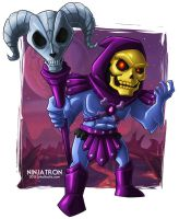 SD Skeletor by ninjatron