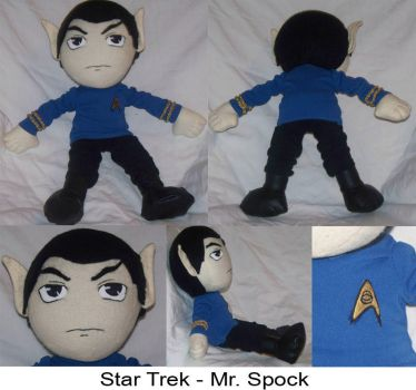 Commission: Mr. Spock by Necronomical