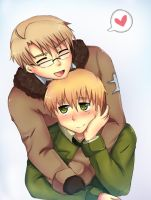 APH I want to hug you Idiot by Aleriy