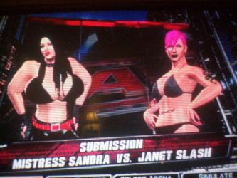 Mistress Sandra vs Janet Slash by lilguy31