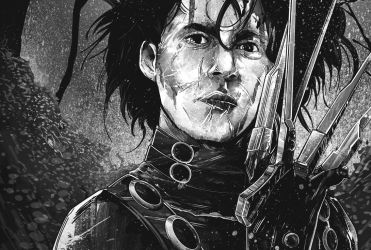 WIP - Edward Scissorhands by thefreshdoodle