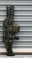 M41A Pulse Rifle Inspired Nerf Stampede 1/2 by JohnsonArmsProps
