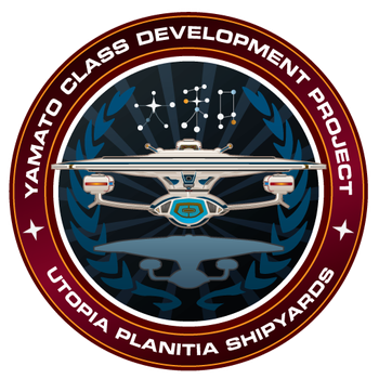 Starfleet Patch - Yamato Class Development by thomasthecat
