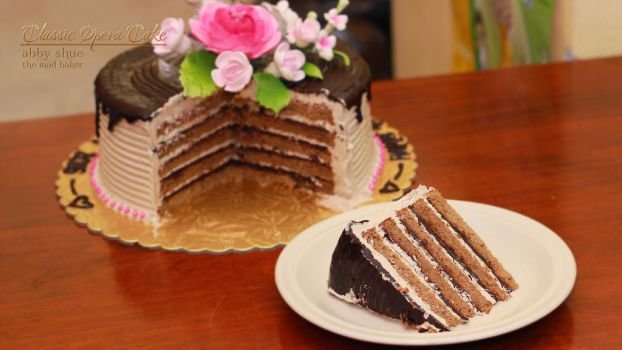 074 - Classic Opera Cake by AbbyShue