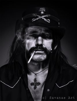 Lemmy by SavanasArt