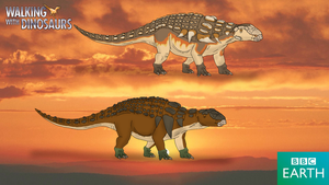 Walking with Dinosaurs: Edmontonia by TrefRex