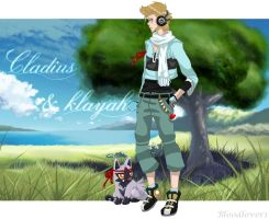Cladius and Klayah Pokemon OC by bloodlover1