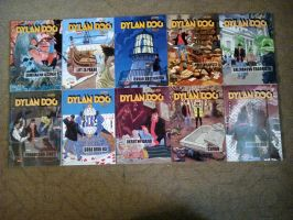 Dylan Dog Comic Collection from 40 to 49 by NecromancerKing85