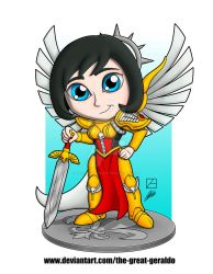 Chibi Celestine by The-Great-Geraldo