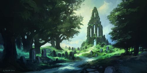Forgotten Graveyard (Patreon IP04) by andreasrocha