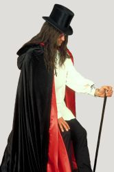 Top Hat and Cloak by Rivendell-PhotoStock