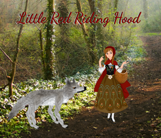 My Little Red Riding Hood: Illustration 1 by musicmermaid