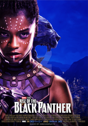 The Rise of the Black Panther by ArkhamNatic