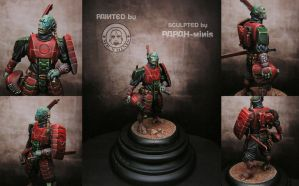 Alien Commander painted by Patxi Elizondo by Papah-minis