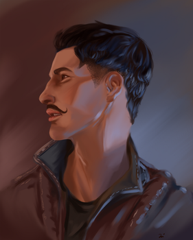 Dragon Age Inquisition: Dorian Pavus by AgentKnopf