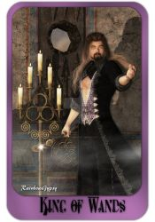 King of Wands, by RainbowGypsy by FantasiesRealmMarket